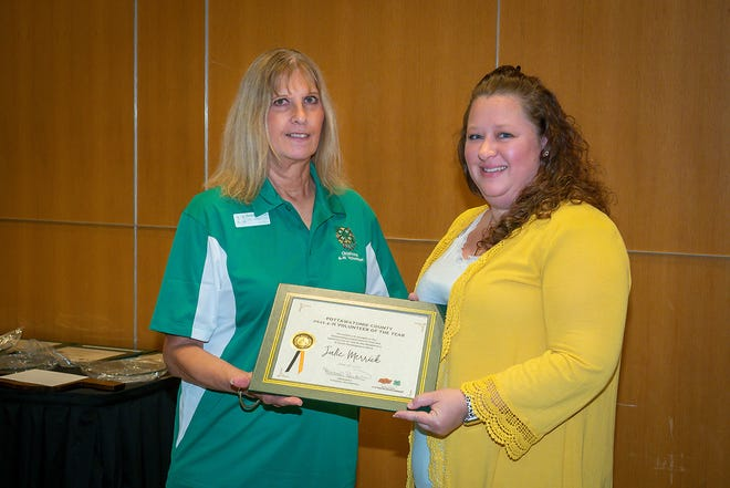 Julie Merrick of McLoud was among those attending the 2021 Parent-Volunteer Conference.