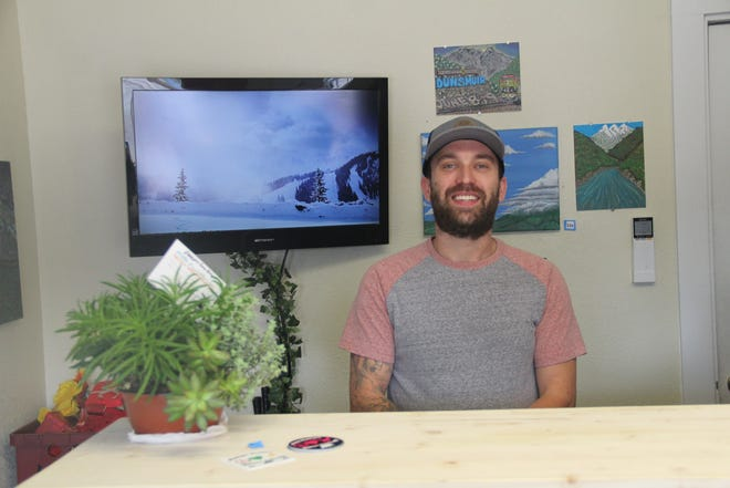 Sam Bal opened Camp Siskiyou as a place to put a spotlight on locally made items, and to offer advice about all the things there are to do and see in Siskiyou County.