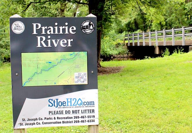 The stretch of Prairie River from Centreville to Hoshel Road in Lockport Township is a top-three most-popular paddle route in St. Joseph County.