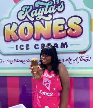 Nikishiea McKnight launched Kayla's Kones in Wilmington, N.C.