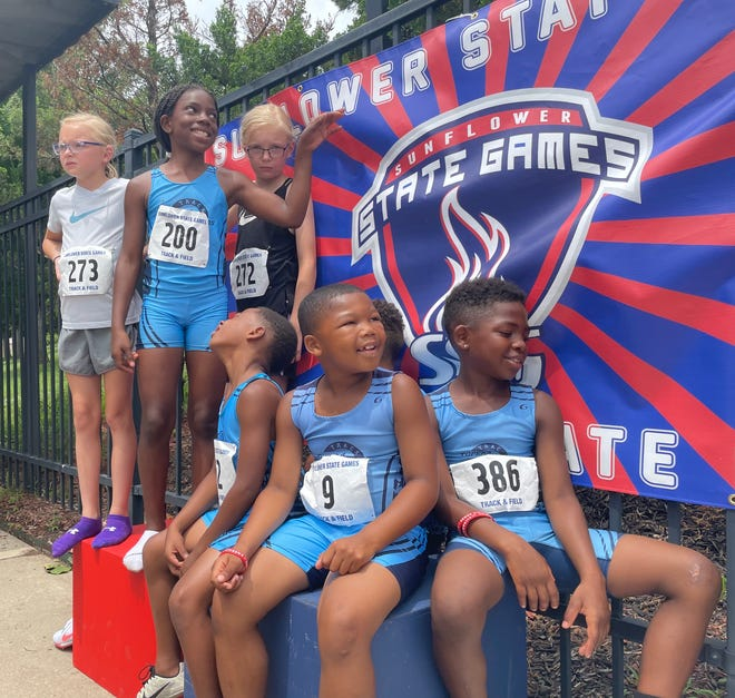 Of the 29 members of the Topeka Blazers Track Club, 28 qualified to compete at national July 28 to Aug. 7 in Houston.