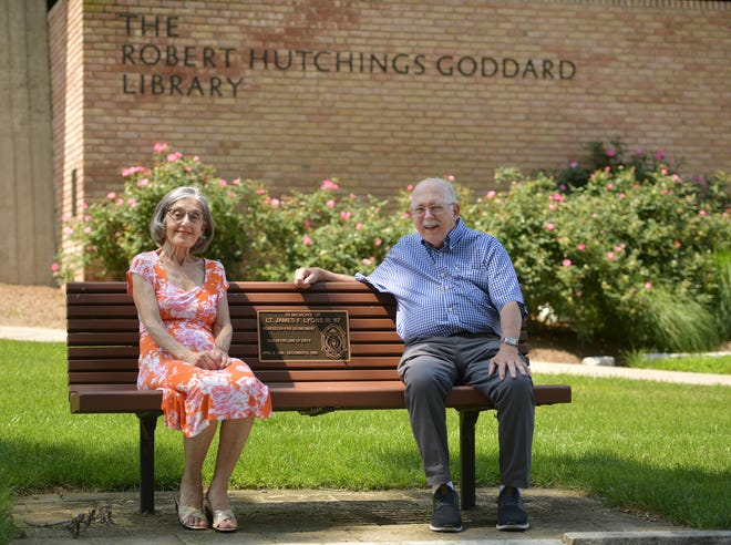 Judy Finkel and James Hanlan are members of the Friends of the Goddard Library at Clark University. The Friends, which included 300 members, was dissolved unexpectedly by Clark University earlier this year.