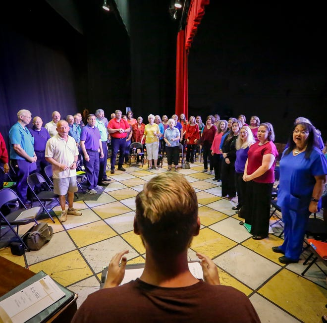 """A cast of more than 60 will take part in Theatre of Gadsden's """"Looking for a City: The Gospel Journey Continues,"""" which spotlights Southern Gospel music and starts July 22 at the Ritz Theatre in Alabama City."""