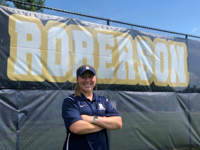 Izzy McCurry Rowland is the new Roberson softball coach.