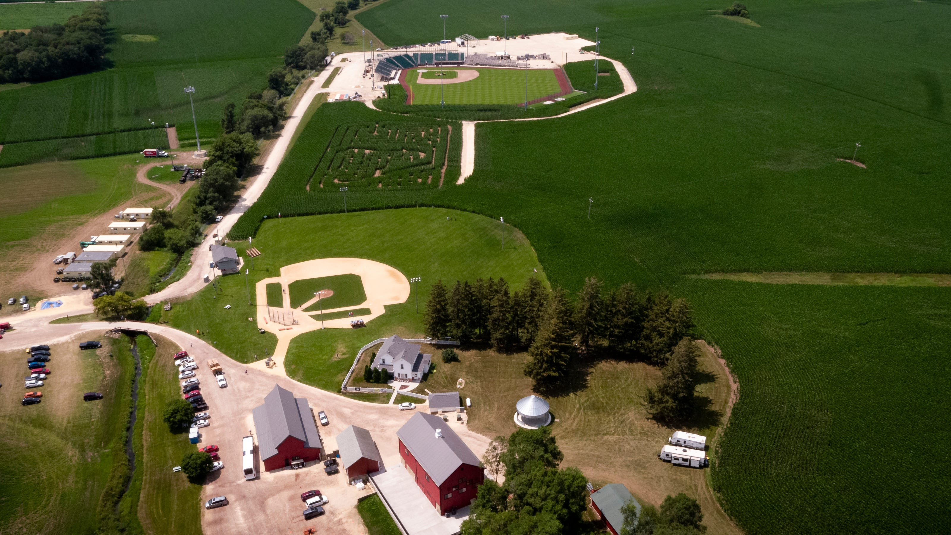 Didn't get a ticket to the Field of Dreams game? Here's where you can watch it on TV
