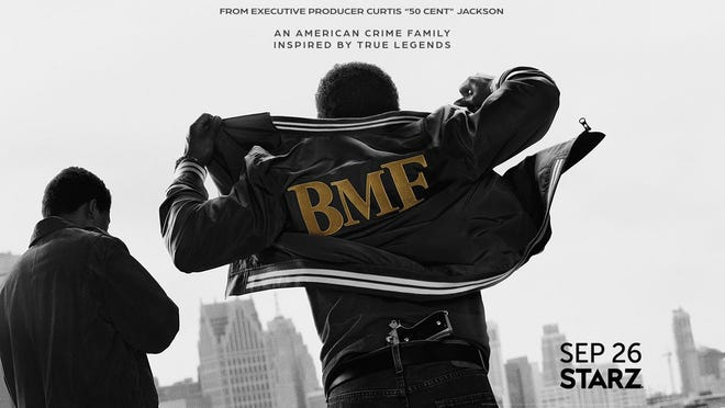 """""""BMF,"""" a new drama from Starz inspired by a Detroit crime family, premieres Sept. 26, 2021."""