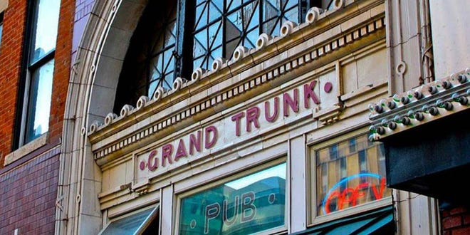 The historic Grand Trunk Pub at 612 Woodward will reopen July 31 after renovations.