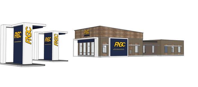 FNBC Bank rendering.