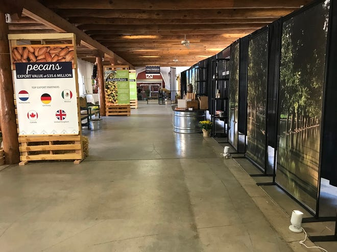 """The New Mexico Department of Agriculture seeks photos from the state's agriculture industry for its """"NM Ag Never Stops"""" display at the 2021 New Mexico State Fair in Albuquerque in September. The 2019 display featured New Mexico export products."""