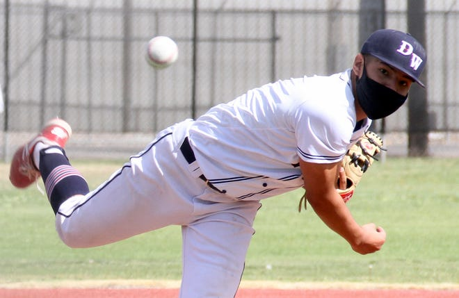 Christian Pacheco leaves a legacy as a hard-throwing right-hand pitcher with a workhorse mentality. Pacheco logged the most innings and was among the team leaders in strikeouts, ERA (Earned Run Average) and wins.