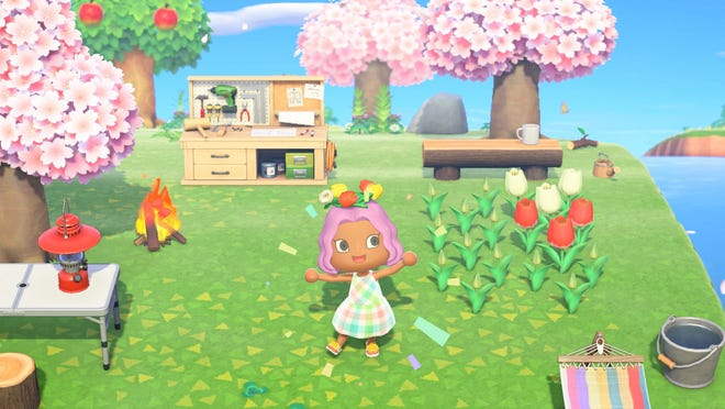 """An image from """"Animal Crossing: New Horizons."""" (Nintendo of America/TNS)"""