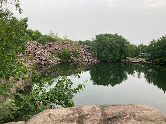 One of the swimming areas at Quarry Park is pictured Wednesday, July 14.
