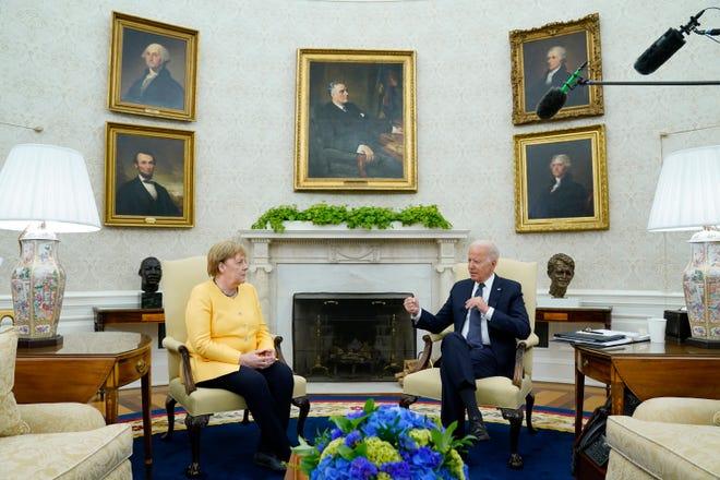 Il cancelliere tedesco ha pressato il presidente Joe Biden su un divieto di viaggio negli Stati Uniti durante un incontro a luglio.