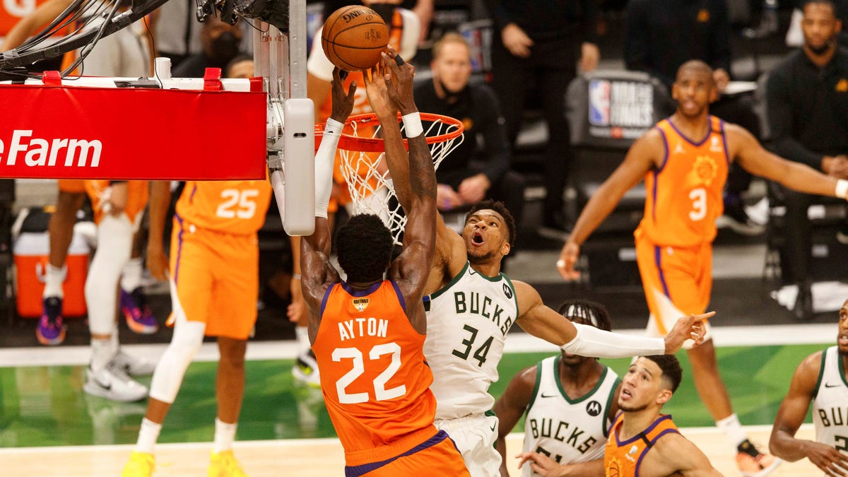 Best blocks in NBA playoff history: How does Bucks' Giannis Antetokounmpo compare?
