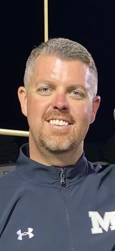 Muleshoe head football coach Jason Richards