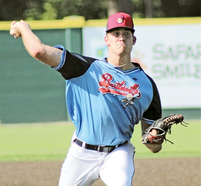 Daniel Barham has been a two-year stalwart for the Bartlesville Doenges Ford Indians.