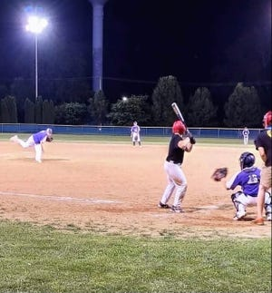 Little Giant pitching hit some rough spots during their game against the Wildcats, but teamwork allowed Canton to pull out the win.