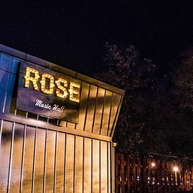 Rose Music Hall's standup showcase, Pints and Punchlines, relaunches Wednesday for the first time since February2020.