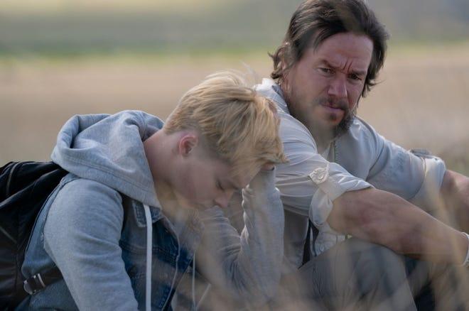 """Mark Wahlberg and Reid Miller in a still from """"Joe Bell"""""""