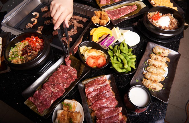 An assortment of options at Ichi Japanese BBQ.