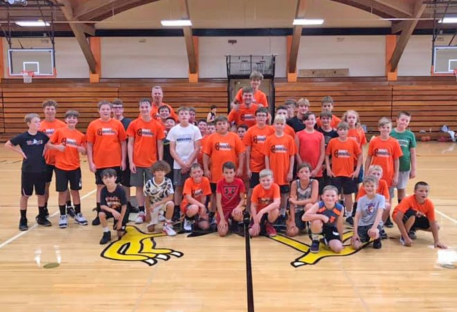 Nearly 50 members of the community traveled to QHS to compete in the Quincy boys basketball summer camp