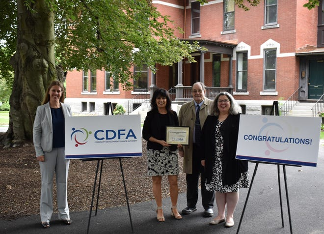 The New Hampshire Community Development Finance Authority announced tax credit funding of $45,500 to the Homeless Center for Strafford County for its L5 Capacity Building Program.