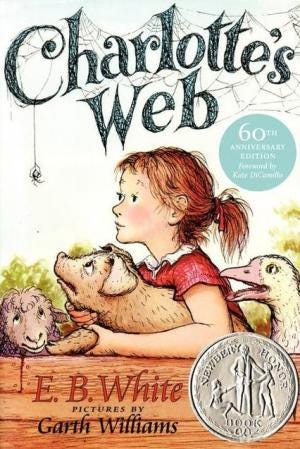 """Dover Community Read is reading """"Charlotte's Web"""" this summer."""