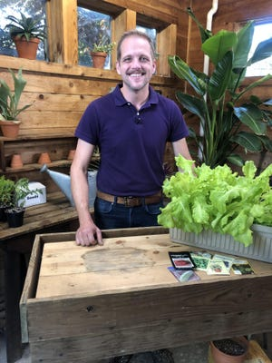 Aaron Steil, a new consumer horticulture specialist with Iowa State University Extension and Outreach, will work with county staff and provide gardening resources.