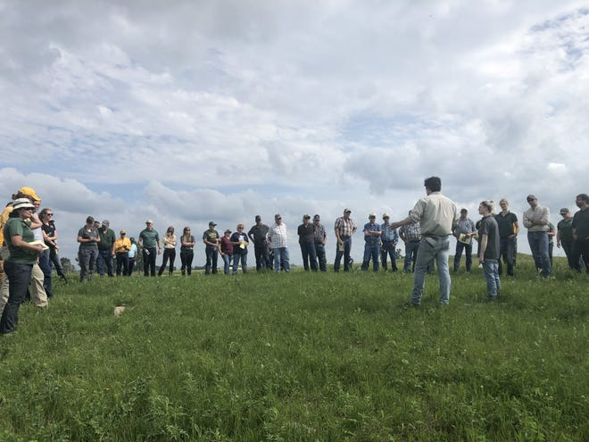 The field day at North Dakota State University's Central Grasslands Research Extension Center near Streeter will be live this year on July 27.
