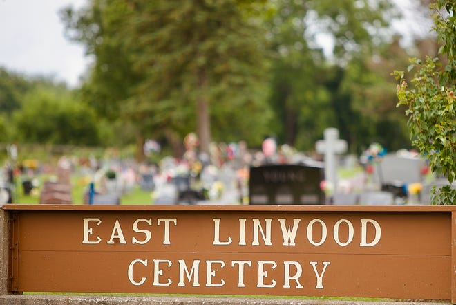 Pictured is Galesburg's East Linwood Cemetery.