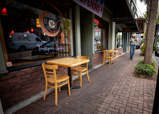 The city of Winter Haven plans to expand sidewalks and create outdoor cafes for dining along Central Avenue between 4th and 2nd streets.