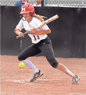 Monroe's Ellie Sieler has been named Monroe County Region Softball Player of the Year.