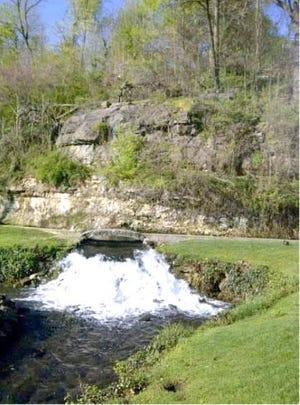 Big Spring Park in Neosho