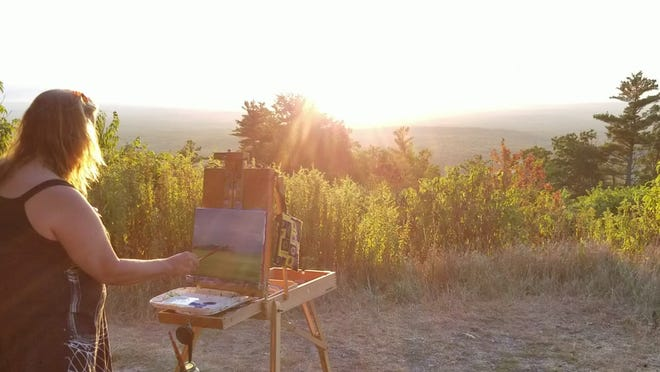 First Annual Plein Air Paint Outevent atMount Agamenticus on Sept. 25.