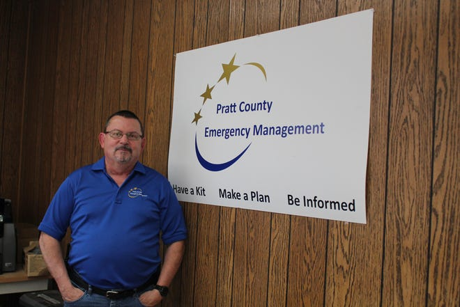 Pratt County Emergency Management Director is working on updating the county's emergency operations manual.