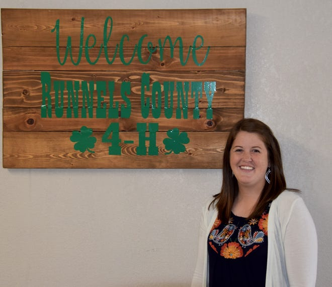 Kellie Morris joins the Texas A&M Extension Office in Runnels County as the new Assistant County Extension agent.  Morris, originally from Mesquite, TX, joined the Runnels County Extension Office a little over a month ago, joining the office headed up by Extension Agent Marty Vahlenkamp, along with Family and Community Health agent Kandice Everitt, IPM agent Haley Kennedy, and office/support staff Becky Wyatt.