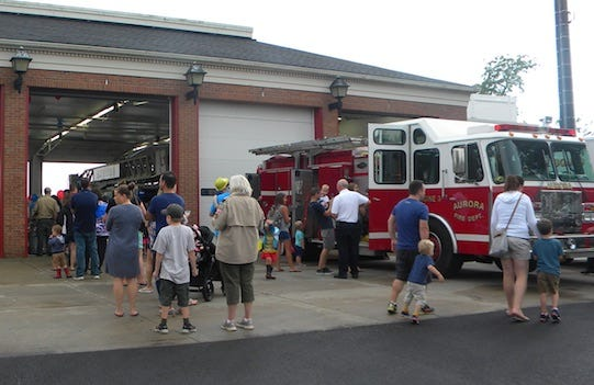 Aurora is planning to host National Night Out / Truck and Tractor Night on Aug. 3. Shown here, the event drew crowds in 2019.