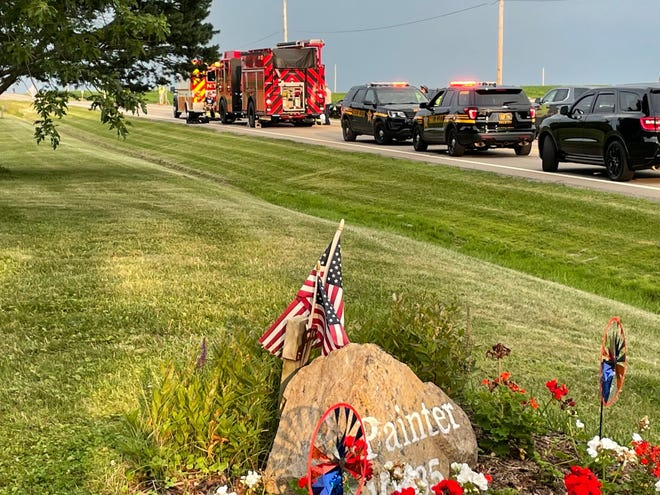 Four people died in a Nimishillen Township crash Thursday evening.