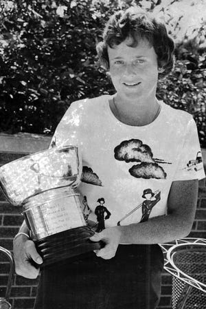 Kay Rossmiller won nine Greater Rockford Women's Classic golf titles, second most in history, and was also an Illinois State Women's Amateur champion.