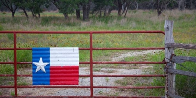 The price per acre of land in Texas has been steadily increasing over the past few years.