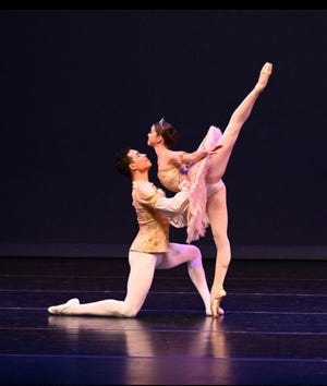 """Natalia Chersia and Sean Miller, students in the Sarasota Cuban Ballet School, will be performing in the program's July 31 """"On Stage"""" performance."""