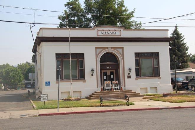 The Yreka Carnegie Library  in Yreka. Photo taken on July  July 14. 2021.