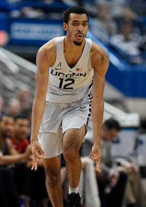 UConn's Tyler Polley is returning to Storrs this season for a fifth year granted by the NCAA due to COVID.