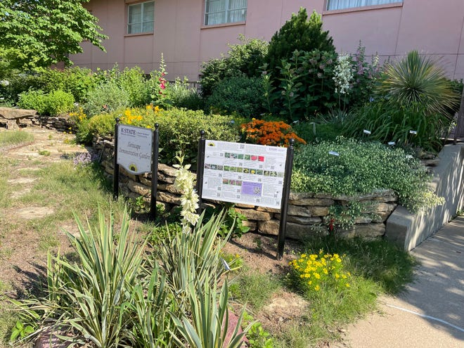 The Shawnee County Extension Master Gardeners' Xeriscape Demonstration Garden is designed to demonstrate plants that grow with limited water and attention.