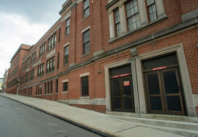 The former St. Mary's Schools at 51 Richland St. in Worcester.