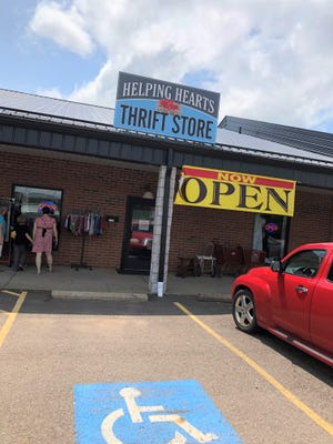 The Helping Hearts Thrift Store opened recently in Strasburg.