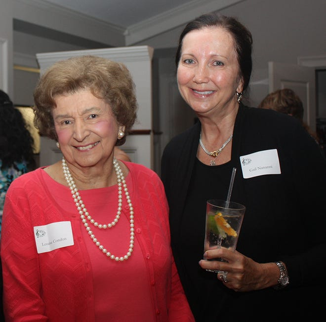 Several Needham residents and businesspeople are among those behind Evening Under the Stars, a benefit for VNA Care at 5:30 p.m. Sept. 9 at the Massachusetts Horticultural Society's Gardens at Elm Bank, 900 Washington St., Wellesley. Pictured are Louise Condon and Gail Nannini.