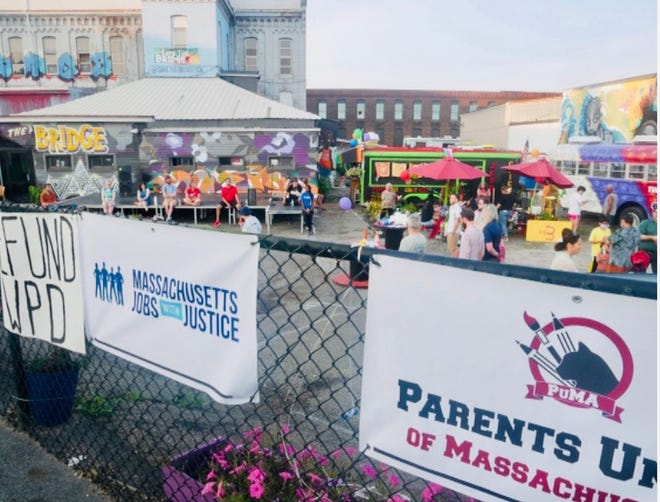 The Worcester Community United event was the last event held July 15 at the Bridge on Southbridge Street in Worcester.