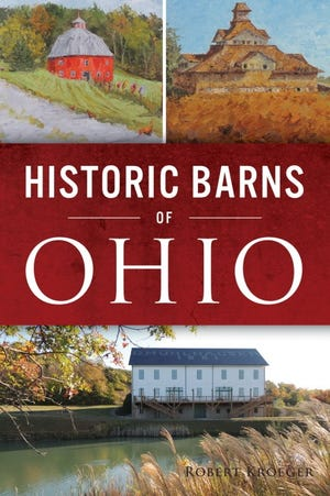 Dr. Robert Kroeger, Cincinnati artist and author, will exhibit 36 paintings of historic barns from Ohio, Idaho, and other states as part of a one-man show from August 5-29 at the historic Pump House Art Center in Chillicothe.