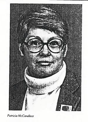 """Patricia """"Patty"""" McCandless left her entire estate to Springboro High School. She taught English there from 1961 to 1968."""